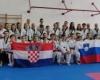 Trenirali so s hrvaškimi reprezentanti